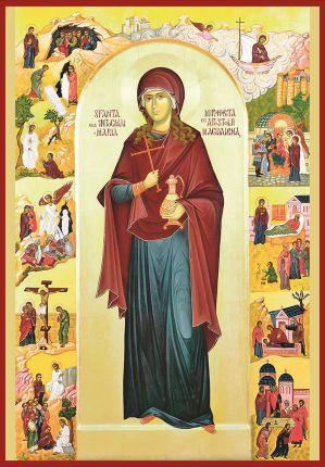 Sfânta Maria Magdalena, cea întocmai cu apostolii - 22 iulie