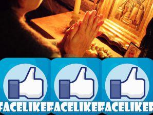 Sfintele icoane - distribuirea lor fără discernământ pe rețele de socializare este sinonimă cu păcatul superstiției