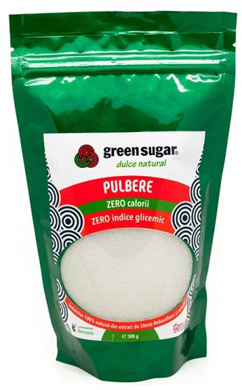 Green Sugar Pulbere - Îndulcitor natural, 300gr