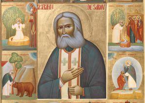 Acatistul Sfântului Serafim de Sarov, marele făcător de minuni