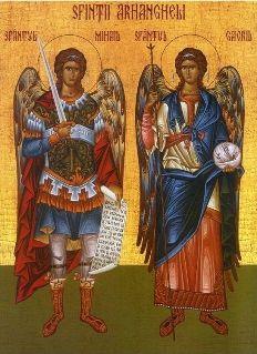 Sfinţii Arhangheli Mihail şi Gavriil - de la venerarea sfinţilor la cultul îngerilor