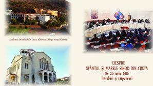 Ebook | Întrebări și răspunsuri despre Sfântul și Marele Sinod din Creta