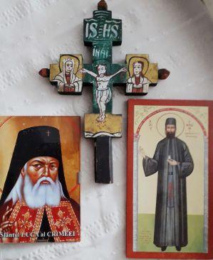 Minunea Sfântului Efrem cel Nou și a Sfântului Luca al Crimeei cu Efrem, copilul nostru