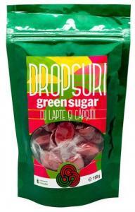 Dropsuri Green Sugar (Lapte si Capsune)