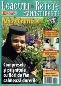 Revista Leacuri si retete manastiresti nr. 11 - august - octombrie 2016