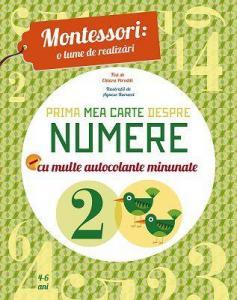 ¤ Prima mea carte despre numere (Montessori)
