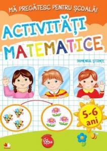 Ma pregatesc pentru scoala - Activitati matematice